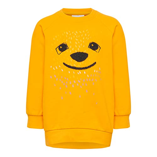 Lego Wear Duplo Girl Lwsophia 603-Sweatshirt Felpa, Arancione (Light Orange 275), 98 Bimba