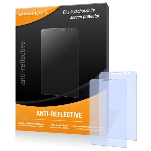 SWIDO Bildschirmschutz für BlackBerry Z30 [4 Stück] Anti-Reflex MATT Entspiegelnd, Hoher Festigkeitgrad, Schutz vor Kratzer/Glasfolie, Schutzfolie, Bildschirmschutzfolie, Panzerglas Folie