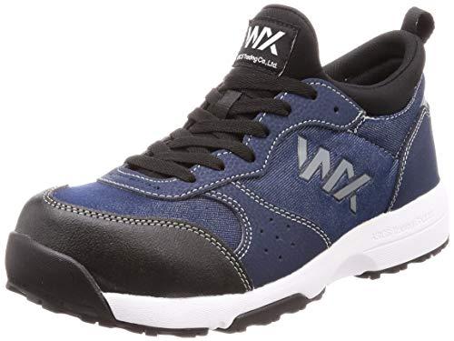 アシックス テクシーワークス 安全靴 プロテクティブスニーカー WX-0003 メンズ安全靴 ネイビーデニム 30 cm 3E
