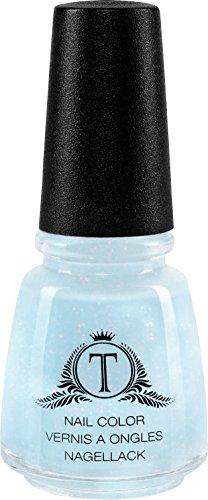 Trosani Topshine Nagellack - ice blue, 1er Pack (1 x 5 ml)