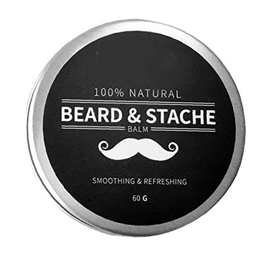 Berrywho Bart Ölbalsam, Männer Bart Pflege Styling feuchtigkeitsspendende Wirkung Beard Conditioner Geschenke für Ehemann Vater