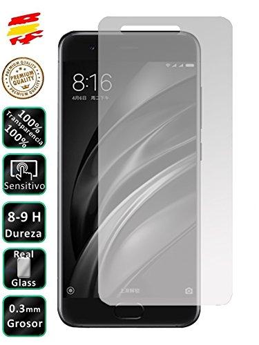 Movilrey Protector para Xiaomi MI A1 4G 5.5 Cristal Templado de Pantalla Vidrio 9H para movil