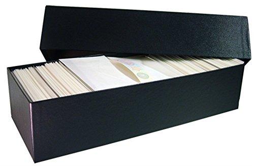 Glassine Envelope Storage Box for #4 & #4.5 Envelopes - Holds Over 1,000 Glassine Envelopes