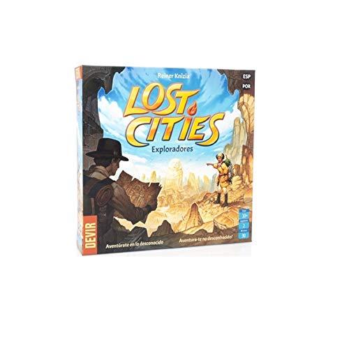 Devir-Lost Cities: Exploradores (Ed. En Castellano y Por, multicolor (1) , color/modelo surtido