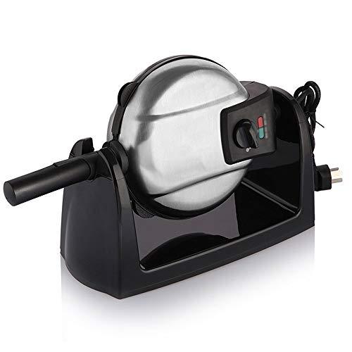 Elektrische wafelijzer, Rotary wafelijzer, Dubbelzijdig Verwarming, Non-Stick bakplaat, gemakkelijk te reinigen, anti-Overflow Design, for ontbijt, wafels