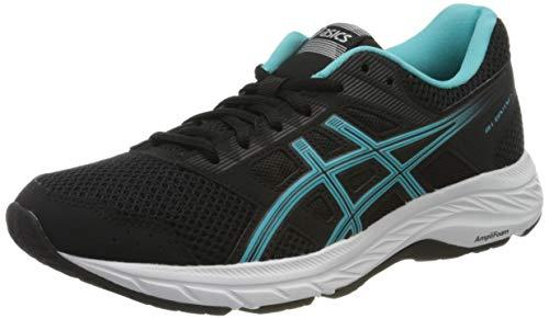 Asics Gel-Contend 5, Zapatillas de Running Mujer, Negro (Black 1012A234-003), 37 EU