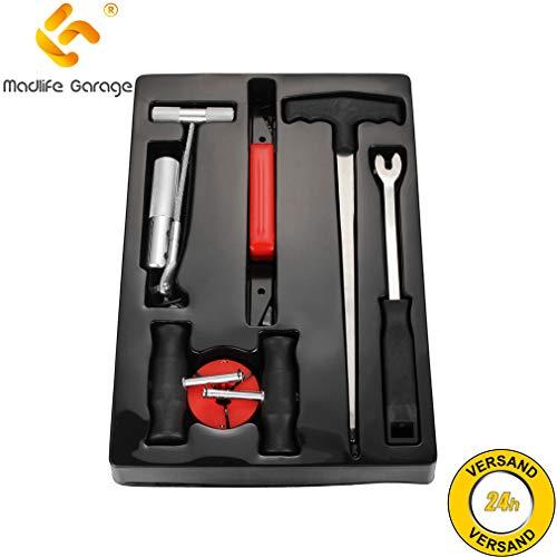 Madlife Garage Juego de herramientas para reparación de parabrisas de coche, 7...