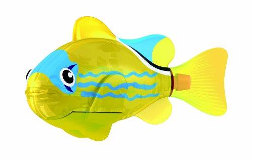 Goliath 32548 Robo-Fisch Yellow Lantern | Buntes LED-Licht | Lebensechte Bewegungen | Wasserspaß für Kinder | elektronisches Wasser-Spielzeug