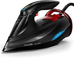 Philips Azur Elite Steam Iron 3000 Watt, GC5037/86, Black, 1 Year Brand Warranty, UAE Version