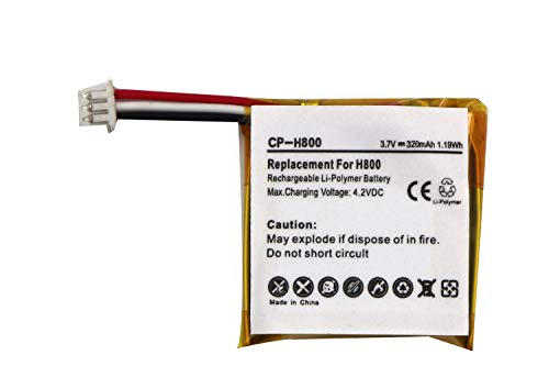 Replacement Battery for LOGITECH H800 533-000067 AHB472625PST L N 1109 L N 1110