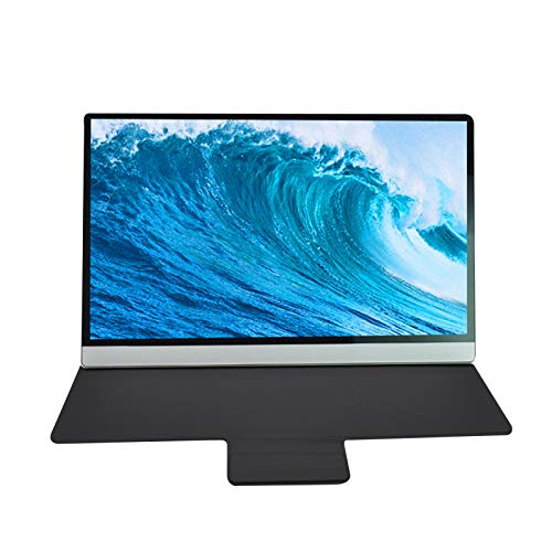 Verstärker Lupe Handy-Lupe 15,6-Zoll-IPS-TFT-tragbarer HDMI-Voll-Touchscreen HD 1920 x 1080 PC-Bildschirm tragbarer Bildschirmmonitor Full HD-Bildschirmanzeige Tragbarer Monitor
