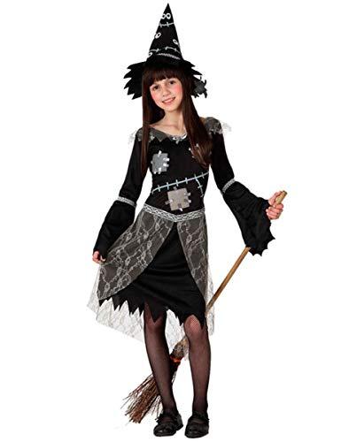 Atosa - 14973 - Costume - Déguisement De Sorcière - Fille - T-4
