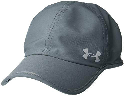 Under Armour Men's Launch Run Hat , Pitch Gray (012)/Reflective , One Size Fits Most