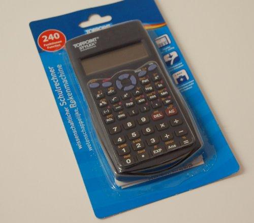Schulrechner, 240 Funktionen