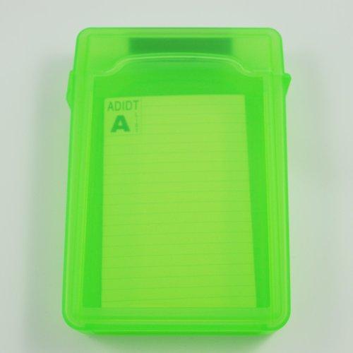 Viudecce Caja de Almacenamiento IDE/SATA HDD Disco Duro 3.5-Pulgadas (Verde)