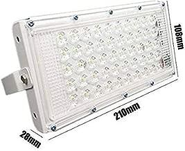 Himack New High Power led 50watt LED watt Ultra Thin Slim IP66 IP6667/50 LED Flood Outdoor Light Cool White Waterproof