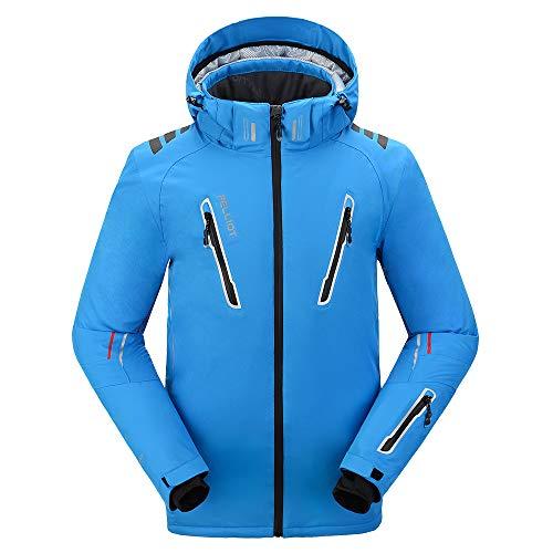 PELLIOT Outdoor-Ski-Abnutzungs Unisex Berufsbergsteigen Wasserdichte Breathable Kleidung, L, königsblau