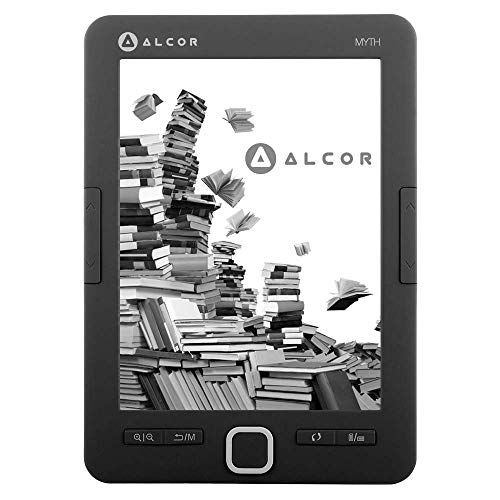 Alcor Myth E-Book Reader 4GB, 5999561502632, Schwarz, One Size