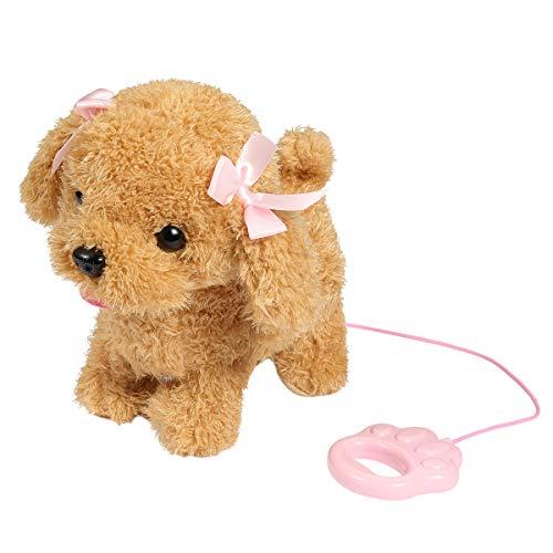 Perro de juguete con lacitos