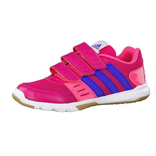 adidas Kinderschuhe Hallenschuhe Klettschuhe Turnschuhe Essential Star 2 CF pink, Größe:29