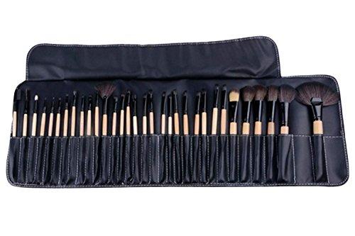 Minetom 32 Pinceaux Maquillage Kit de Maquillage Professionnel Cosmétiques Set + Sac Housse