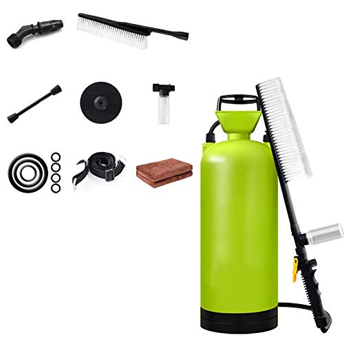 Druk Hoge druk Auto Wassen Water Pomp, 8L Capaciteit Fles + Reinigingsborstel, Bespaar Elektriciteit En Water