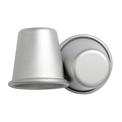 Decora 5062961 BACKFORM FÜR Baba' AUS ELOXIERTEM Aluminium 50 ST-3,5 X 3,5 cm, Silber
