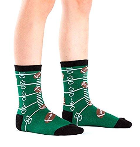 Sock It To Me, Basketball, Football and Ballerina, Junior Crew Socks, Sport Socks (Football)