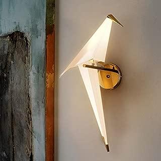 NIUYAO Vivid Bird Wall Lamp, Retro Antique Wall Mount Fixture Stylish Bird Wall Sconces Wall Lighting Modern Plastic Small Wall Light (1 Light) 495725