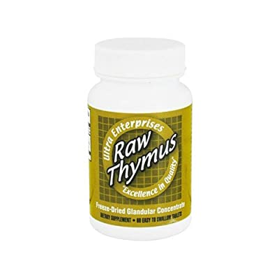 Ultra Glandulars Raw Thymus - 60 Tablets