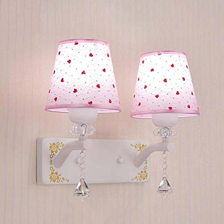 Led-Wandleuchte Schlafzimmer Bett Einfach Warm Crystal Wand Lampe Mode (Stil  B)