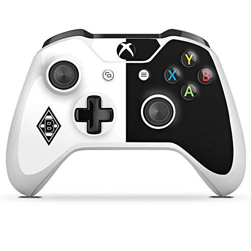 DeinDesign Skin kompatibel mit Microsoft Xbox One S Folie Sticker Borussia Mönchengladbach Gladbach Fußball