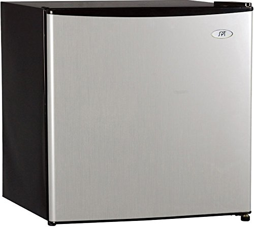 SPT RF-164SS 1.6 cu. ft. Stainless Refrigerator with Energy Star
