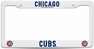 Rico Industries Chicago Cubs Plastic License Plate Frame-Cubs123