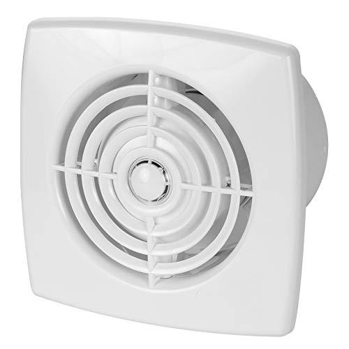 VONLIS® Badkamerventilator, hygrostaat, bewegingsmelder, ventilator, badkamer, diameter 100 cm Vochtsensor/hygrostaat.
