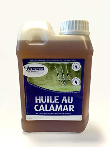 Phosphotech Huile au Calamar 1L - pour appats,...