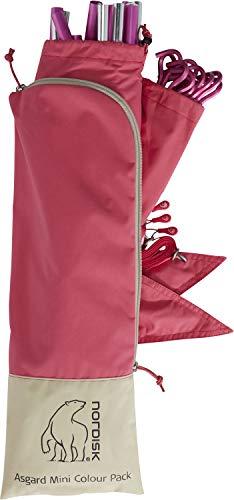 Nordisk Asgard Mini Colour Pack Pink, Zelt-Zubehör, Größe One Size - Farbe Cherry
