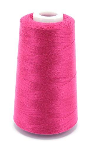 Schnoschi 1 Kone Overlockgarn 40/2 (120), 5000 Yard (4570 Meter), Nähgarn, pink