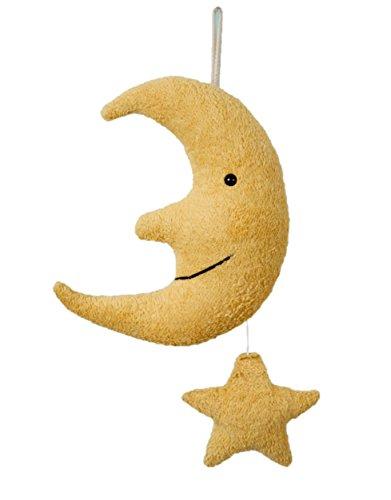 Efie, Spieluhr Mond mit Stern, Melodie Brahms Wiegenlied