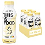 YFood Astronautennahrung Vanille | Laktose- und glutenfreier Nahrungsersatz | 34g Protein, 26...