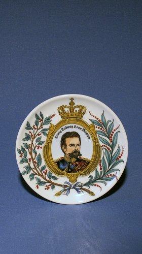 Zimmermann Mini - Teller König Ludwig II