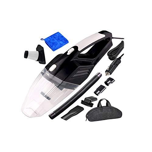 Z&LEI Aspirador de automóviles, aspiradora de Manos de Mano Mini aspiradora para automóviles 5KPA Potentes limpiadores de vacíos automáticos,Negro