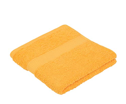 Juego de toallas amarillas de mano (100% algodón)