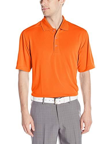 Callaway Polo de Golf à Manches Courtes pour Homme Orange Mandarin Taille S