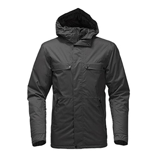 The North Face Insulated Jenison Jacket Asphalt Grey Men's Coat (S)