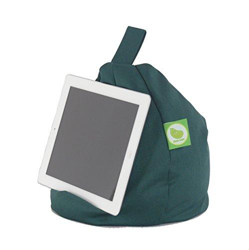 iPad, eReader & Book Mini Sitzsack von Bean Lazy passt für alle Tablets und eReaders - Wasserdicht Grün
