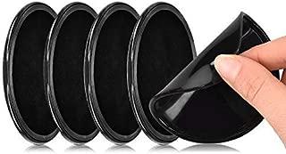 KingSnow SJZJ-18-05-12 4 St/ück Handy KFZ Halterung Universal Fixate Gel Pads Auto-Armaturenbrett Antirutschmatte St/änder f/ür alle Smartphones /& Tablets Schwarz
