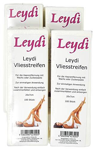 MEGA SPARANGEBOT 1200 Leydi Vliesstreifen - für die Haarentfernung mit Warmwachs und Zuckerpaste