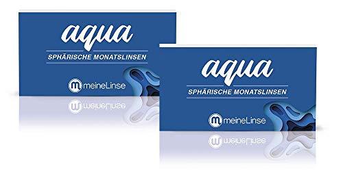 meineLinse Aqua sphärische Monatslinen 6 Stück (ehemals Oculsoft) (-3.75, 8.6, 14.2, 6)