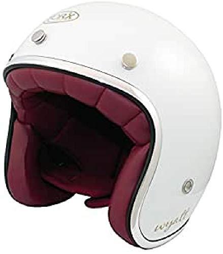 TORX Casco Moto Wyatt Shiny White: S